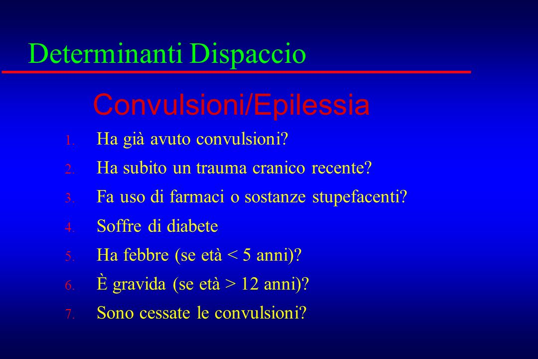 Determinanti Dispaccio