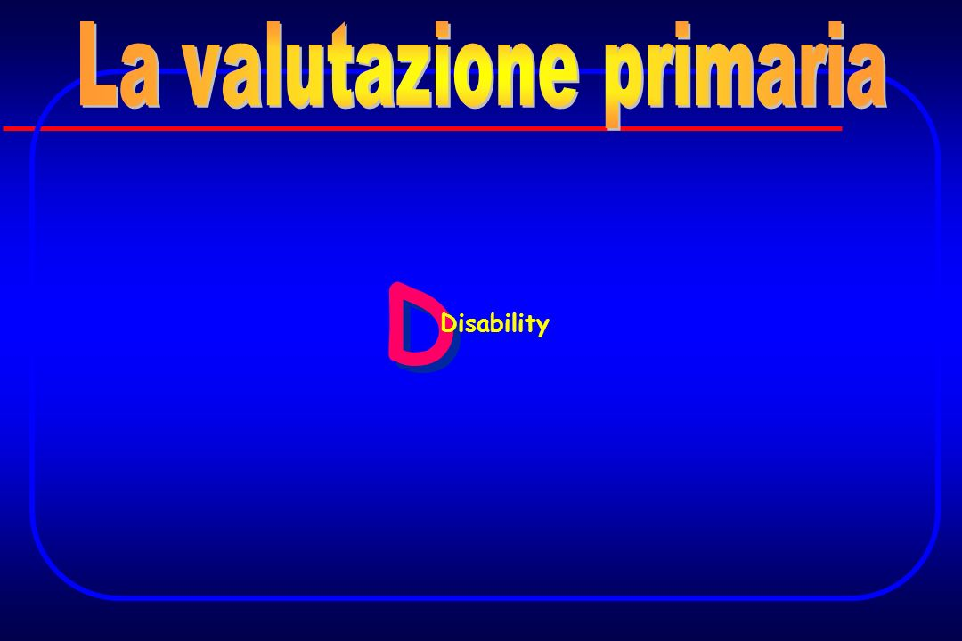 La valutazione primaria