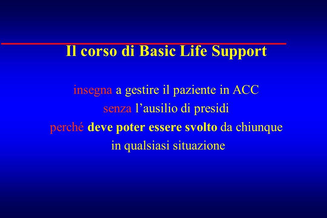 Il corso di Basic Life Support