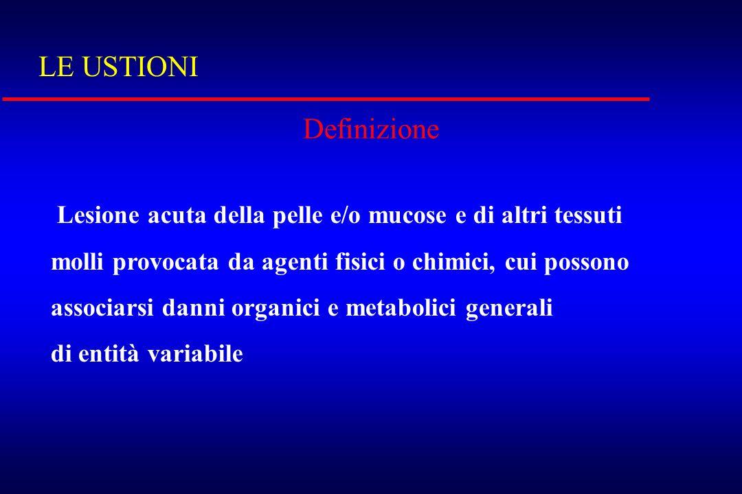 LE USTIONI Definizione