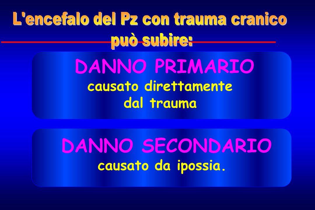 L encefalo del Pz con trauma cranico