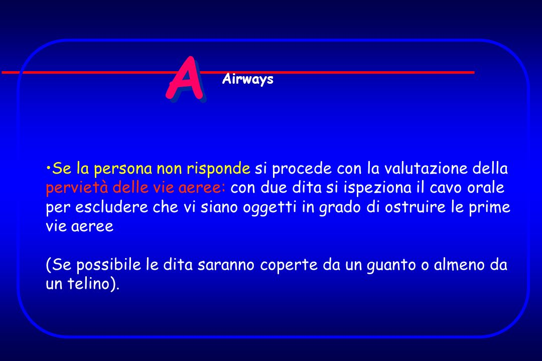 A Airways.