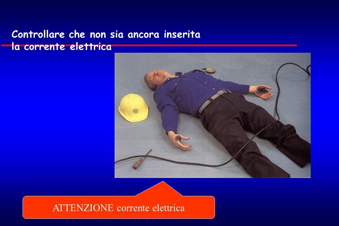 ATTENZIONE corrente elettrica