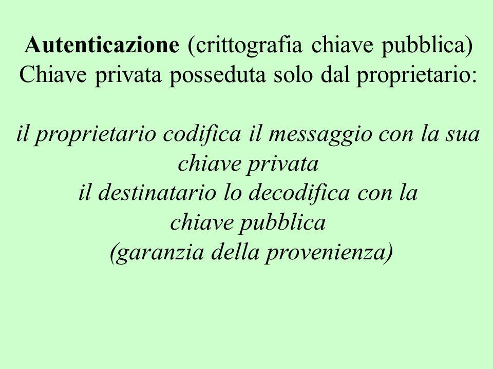 Autenticazione (crittografia chiave pubblica)