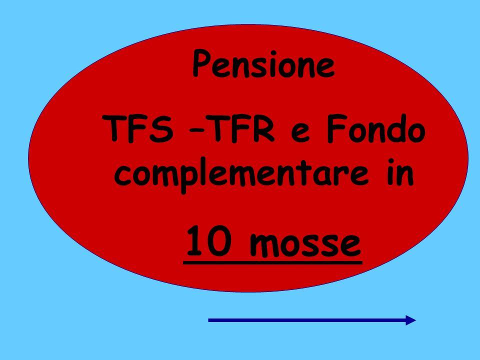 TFS –TFR e Fondo complementare in
