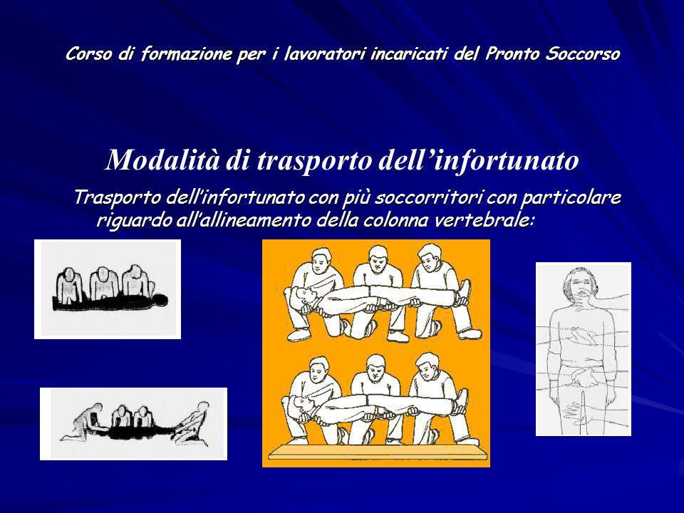 Corso di formazione per i lavoratori incaricati del Pronto Soccorso