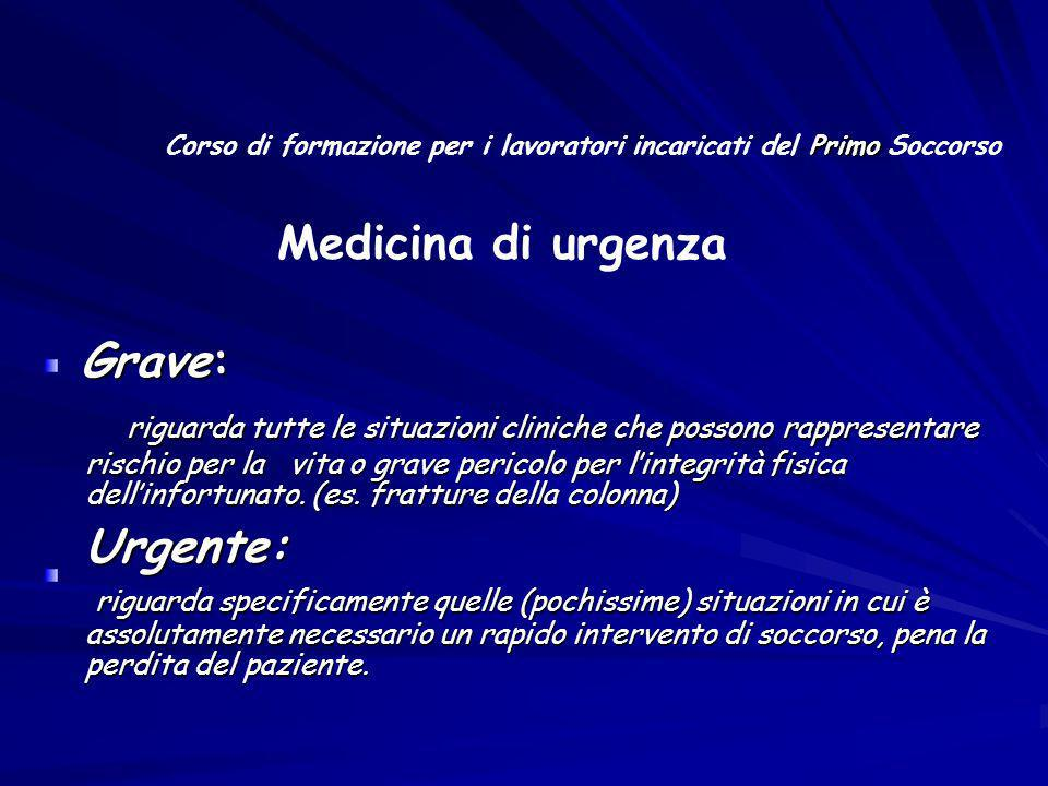 Medicina di urgenza Grave: