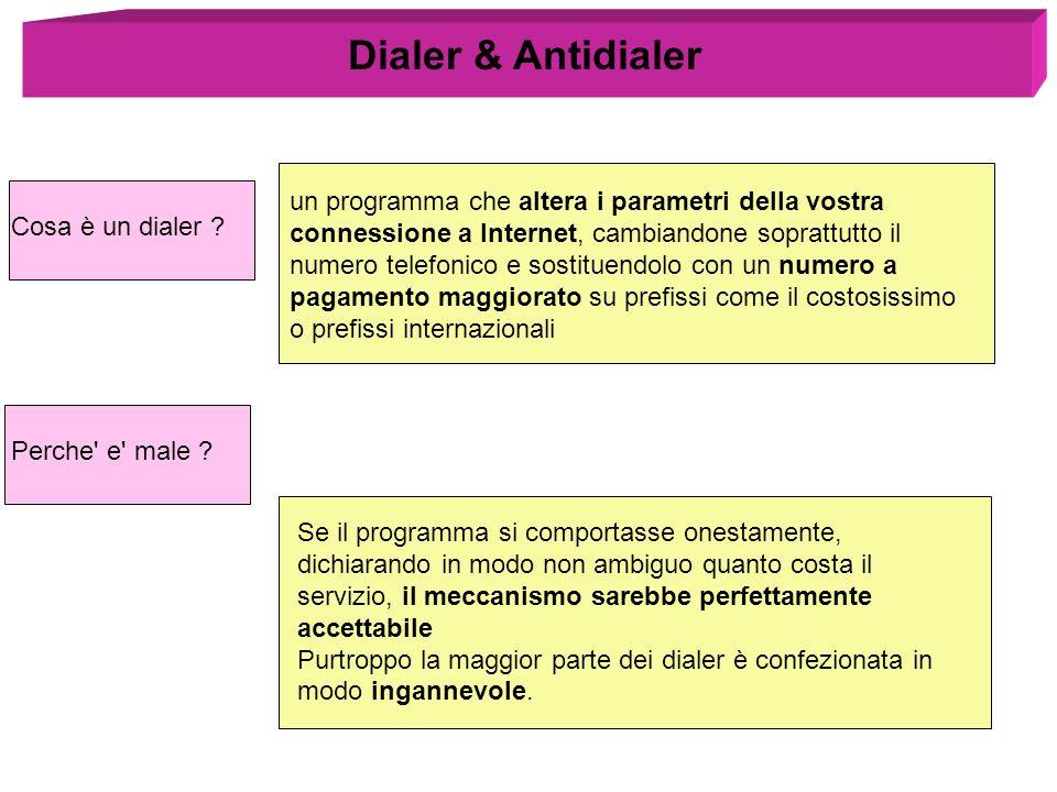 Dialer & Antidialer