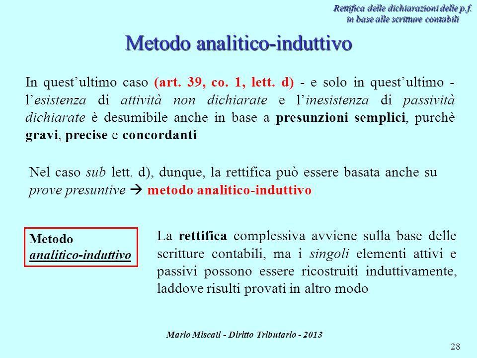 Metodo analitico-induttivo