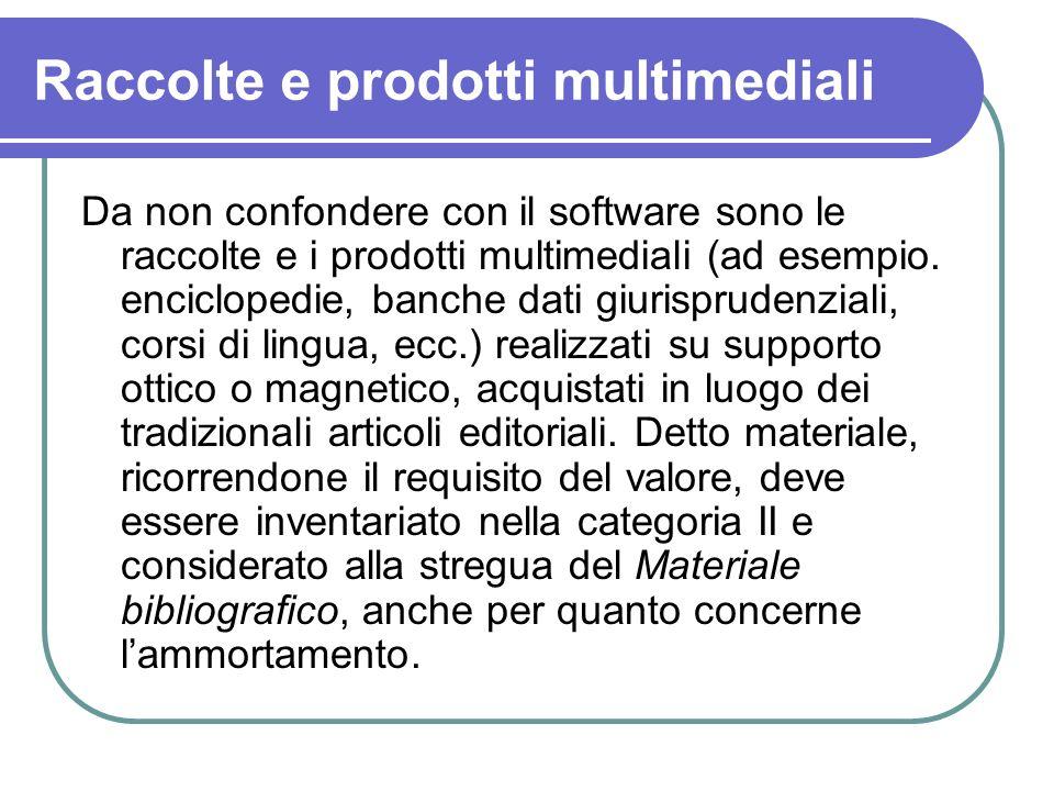 Raccolte e prodotti multimediali