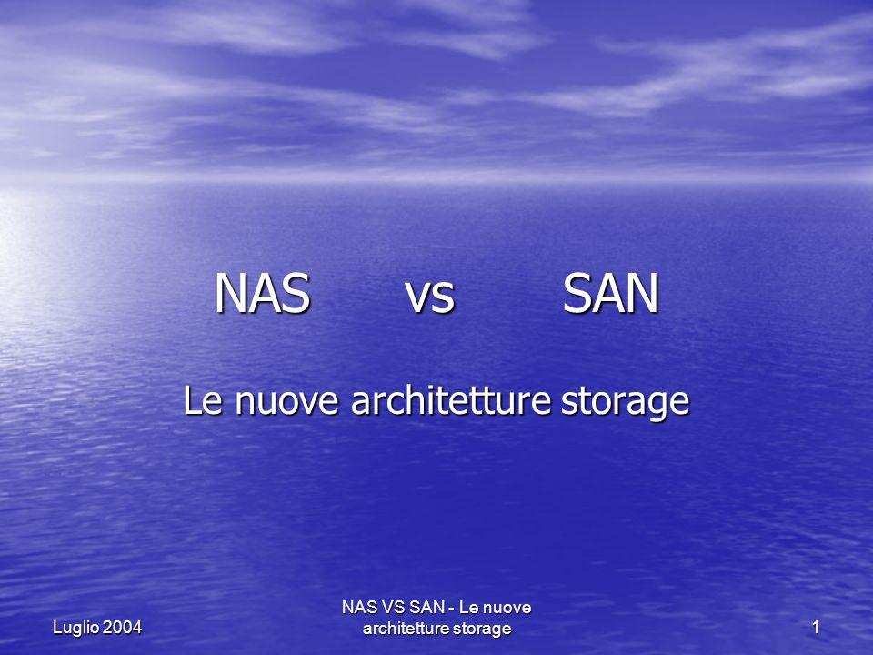 Le nuove architetture storage