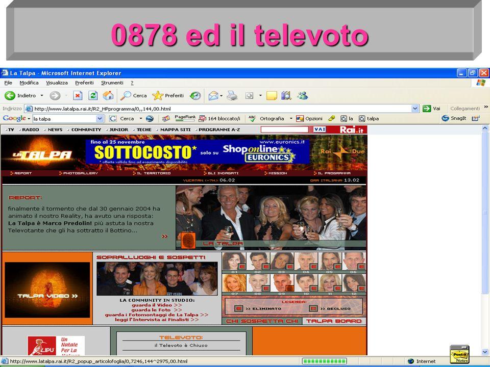0878 ed il televoto