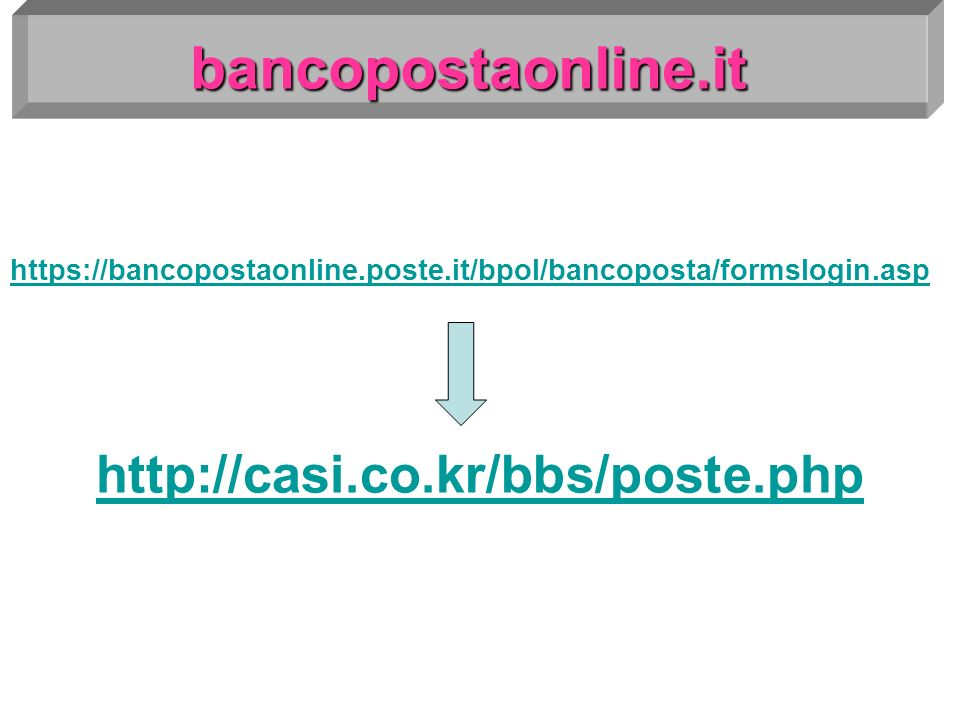 bancopostaonline.it http://casi.co.kr/bbs/poste.php