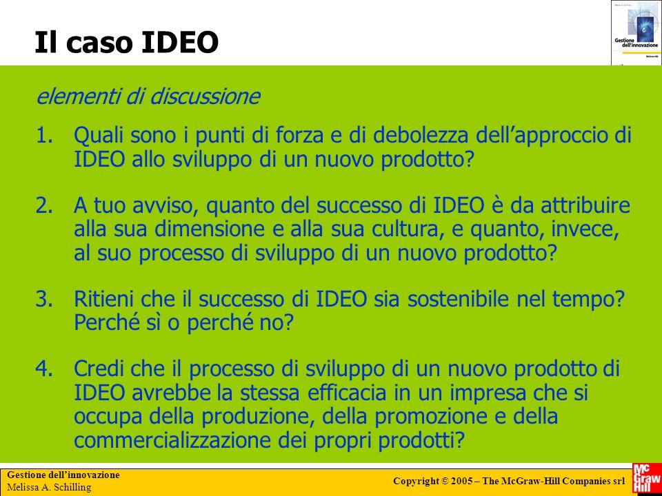 Il caso IDEO elementi di discussione