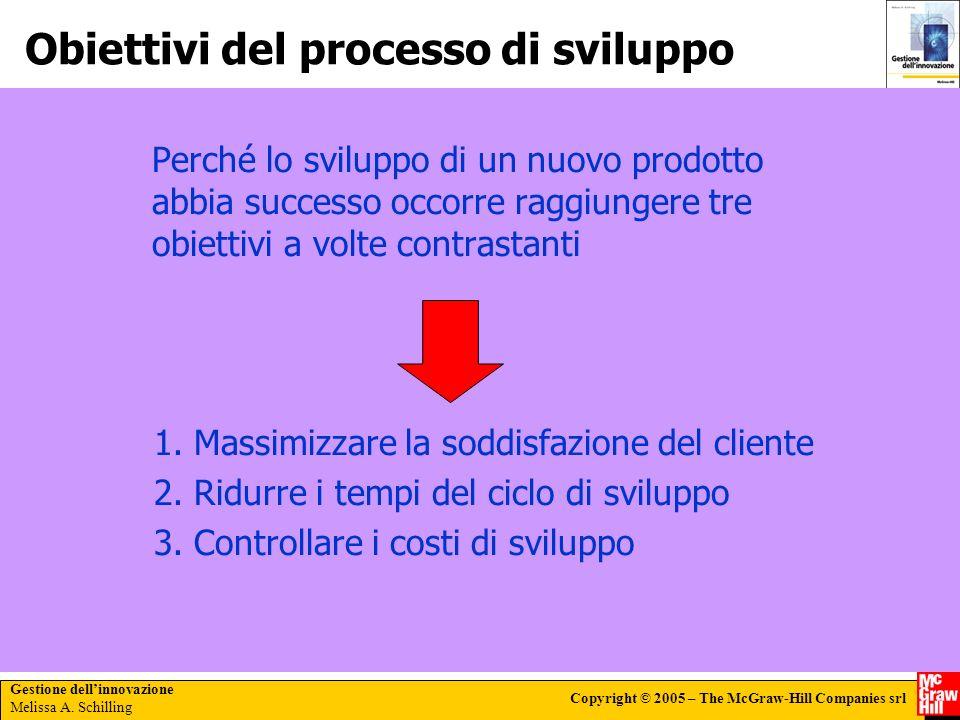 Obiettivi del processo di sviluppo