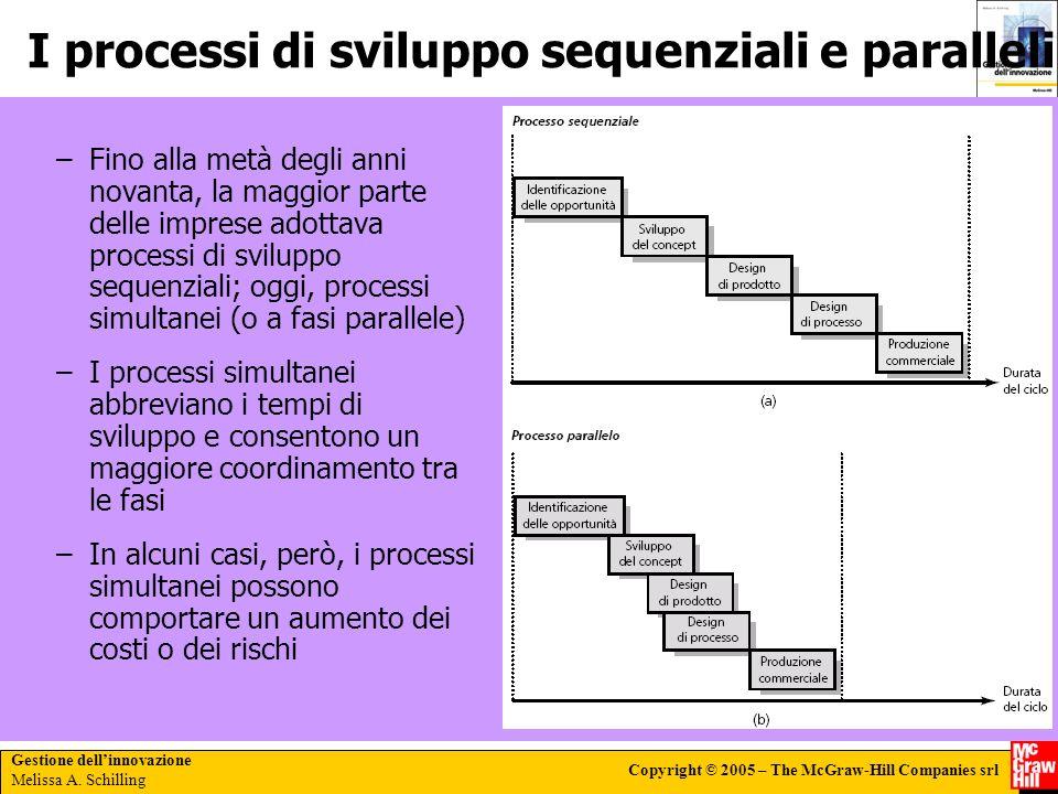 I processi di sviluppo sequenziali e paralleli