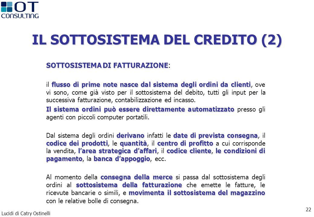 IL SOTTOSISTEMA DEL CREDITO (2)