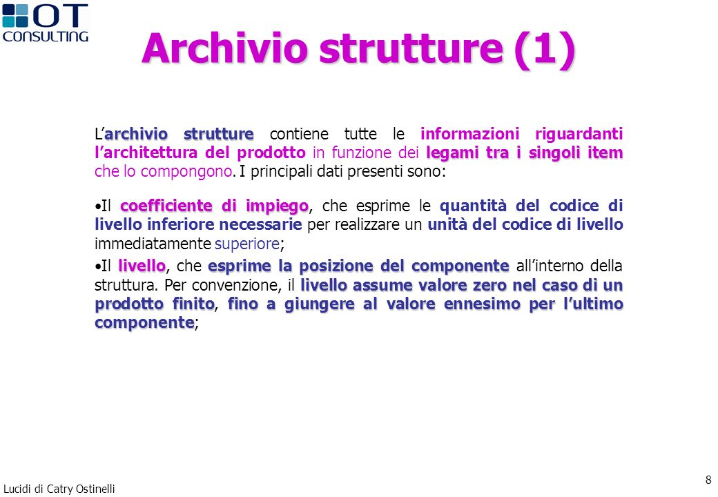 Archivio strutture (1)
