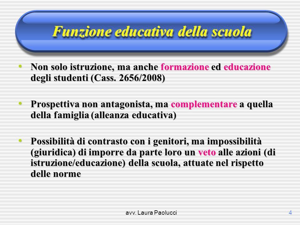 Funzione educativa della scuola