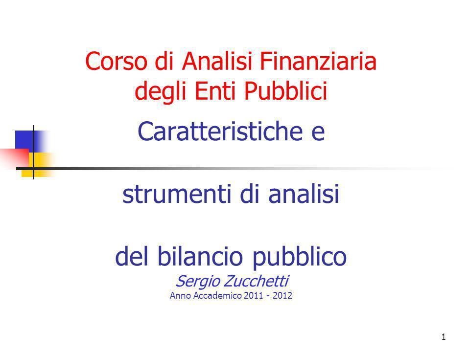 Corso di Analisi Finanziaria