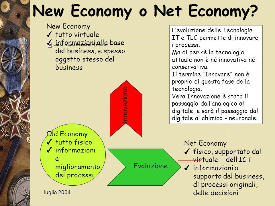 New Economy o Net Economy