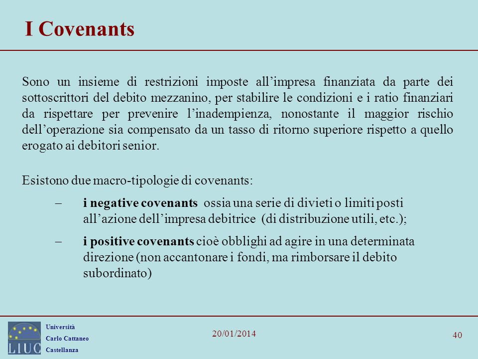 I Covenants