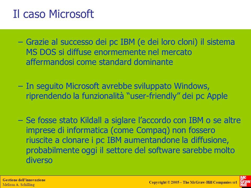 Il caso Microsoft
