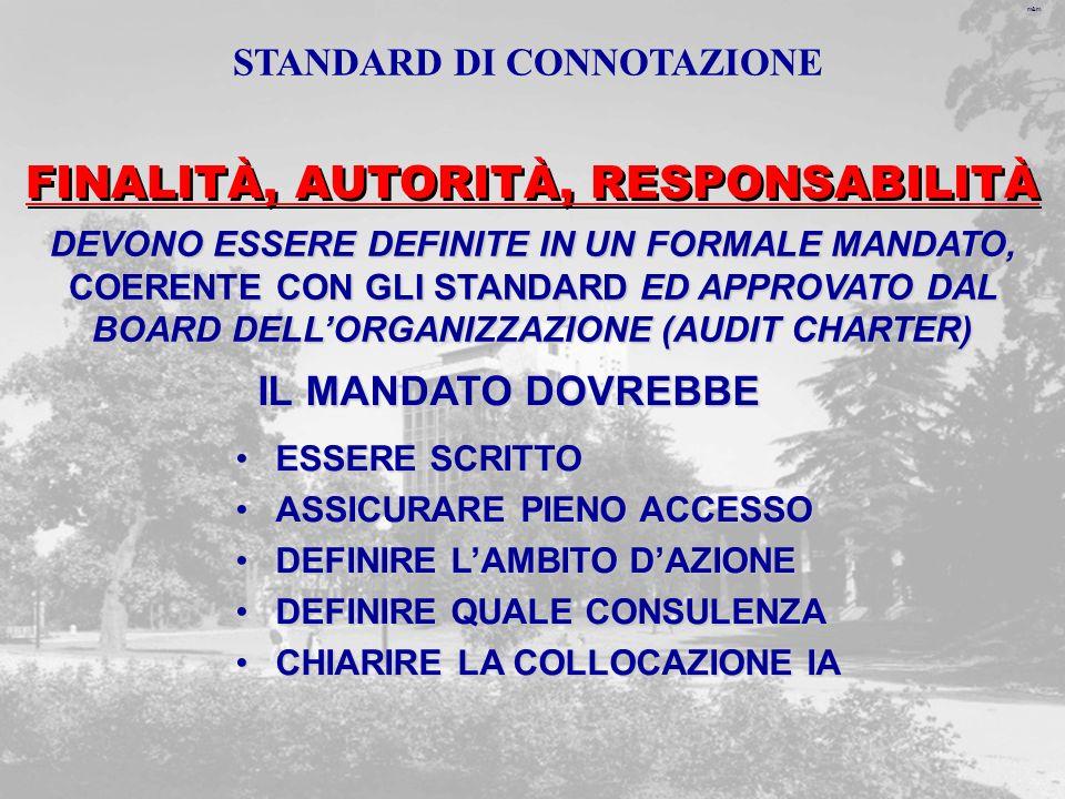 STANDARD DI CONNOTAZIONE