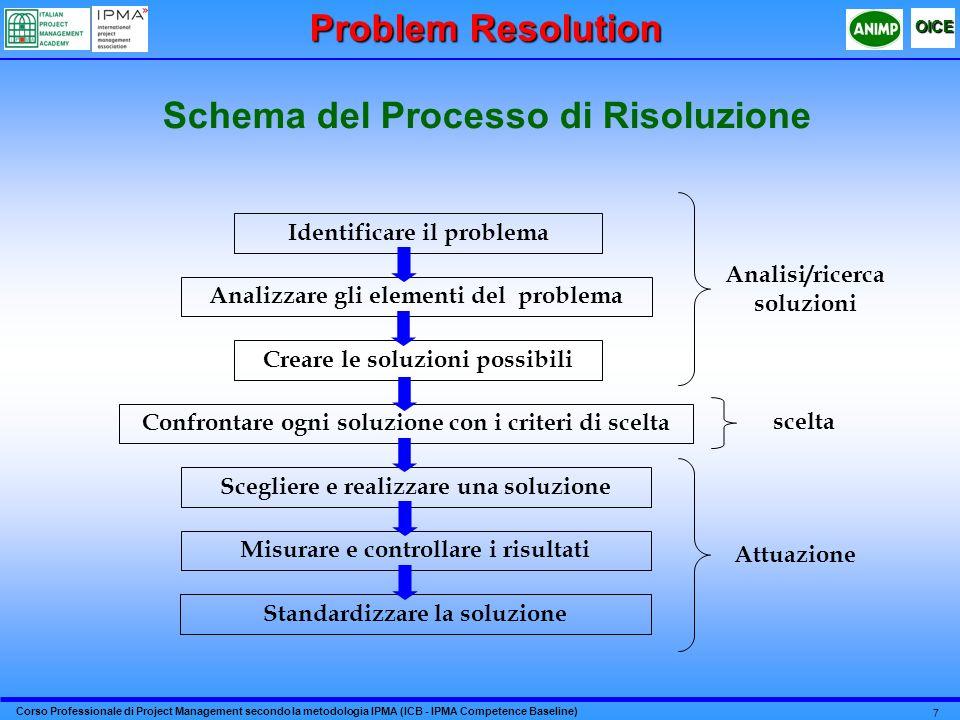 Schema del Processo di Risoluzione
