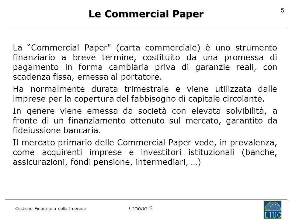 Le Commercial Paper