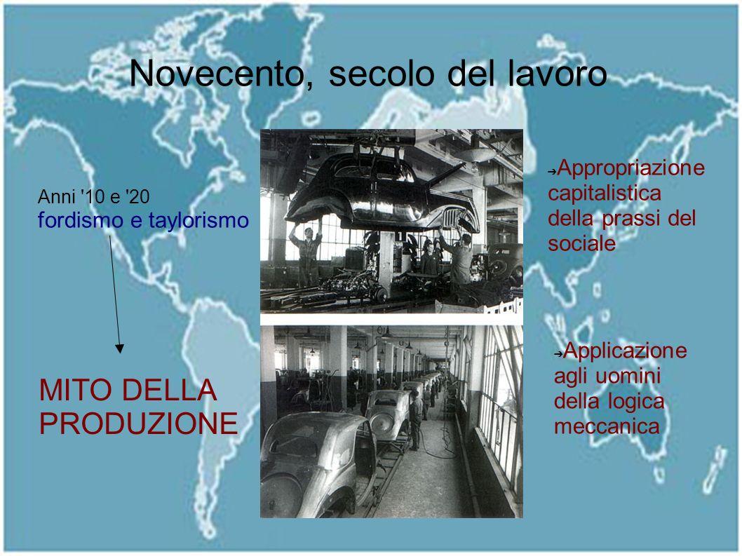 Novecento, secolo del lavoro