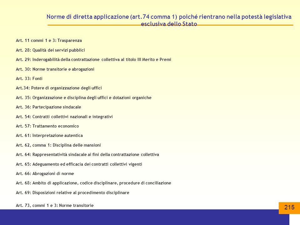 Norme di diretta applicazione (art
