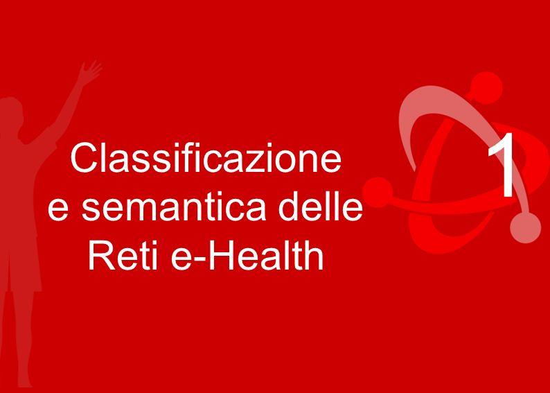 Classificazione e semantica delle Reti e-Health 1