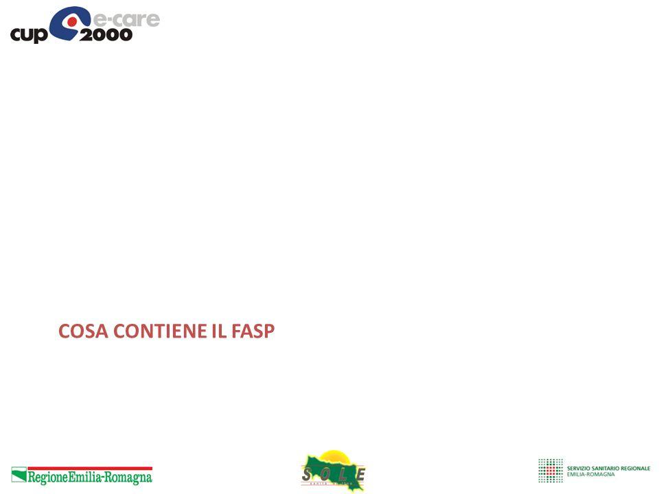 Cosa contiene il FASP