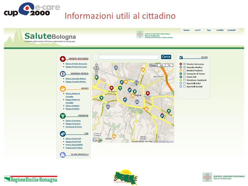 Informazioni utili al cittadino