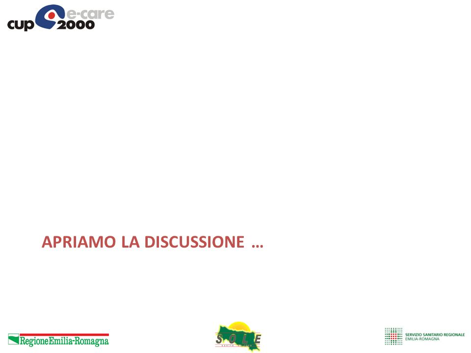 apriamo la discussione …