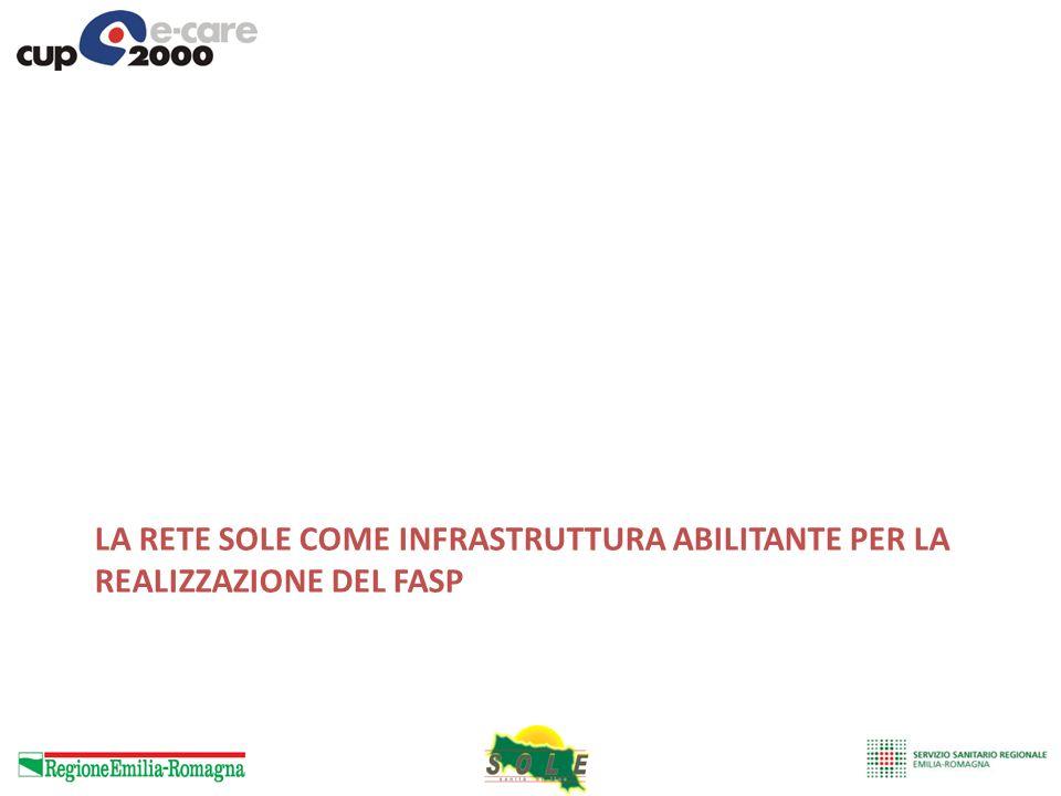 La Rete SOLE come infrastruttura abilitante per la realizzazione del FaSP