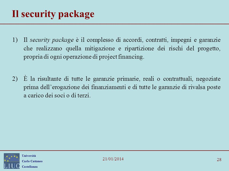 Il security package