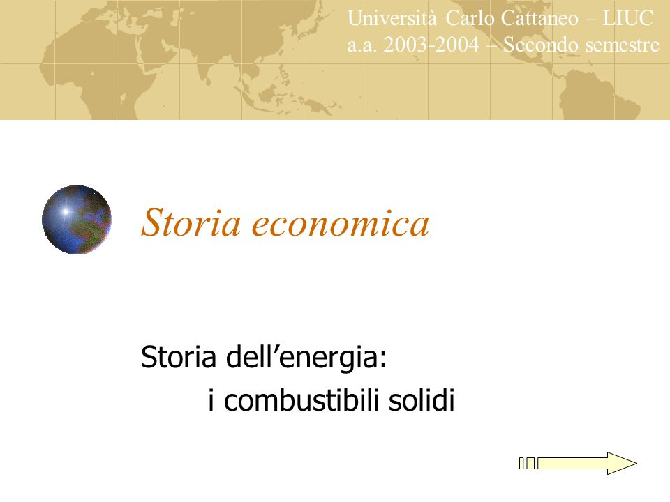 Storia dell'energia: i combustibili solidi