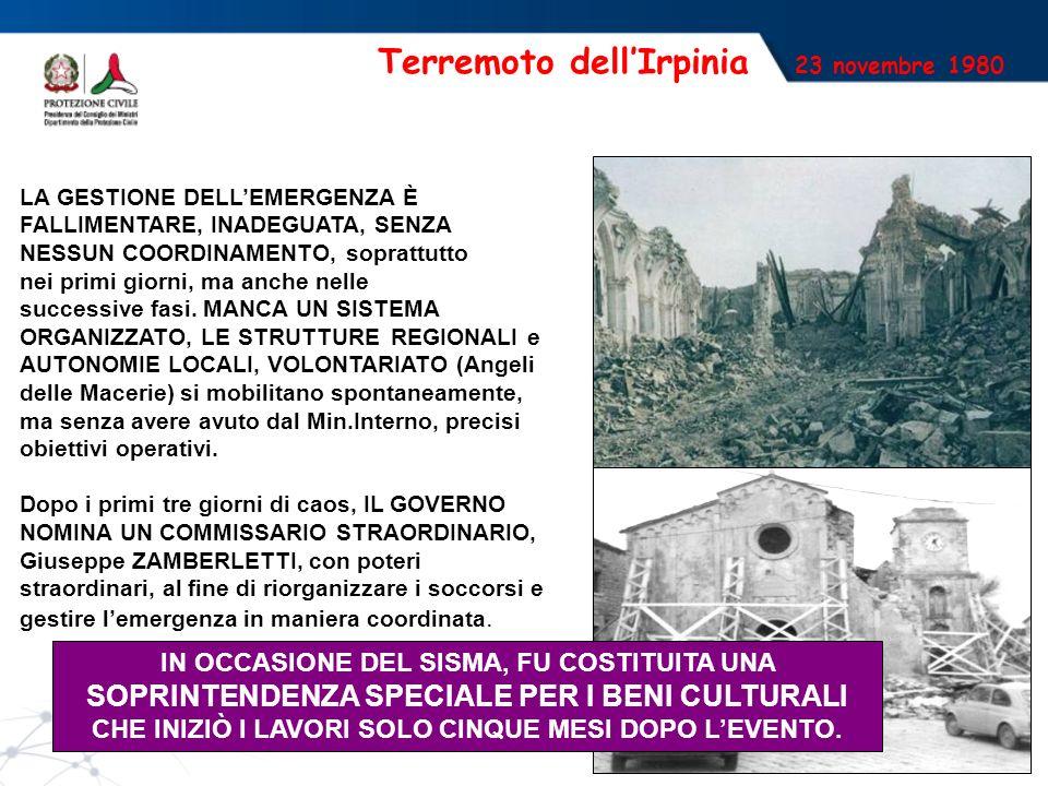 Terremoto dell'Irpinia 23 novembre 1980