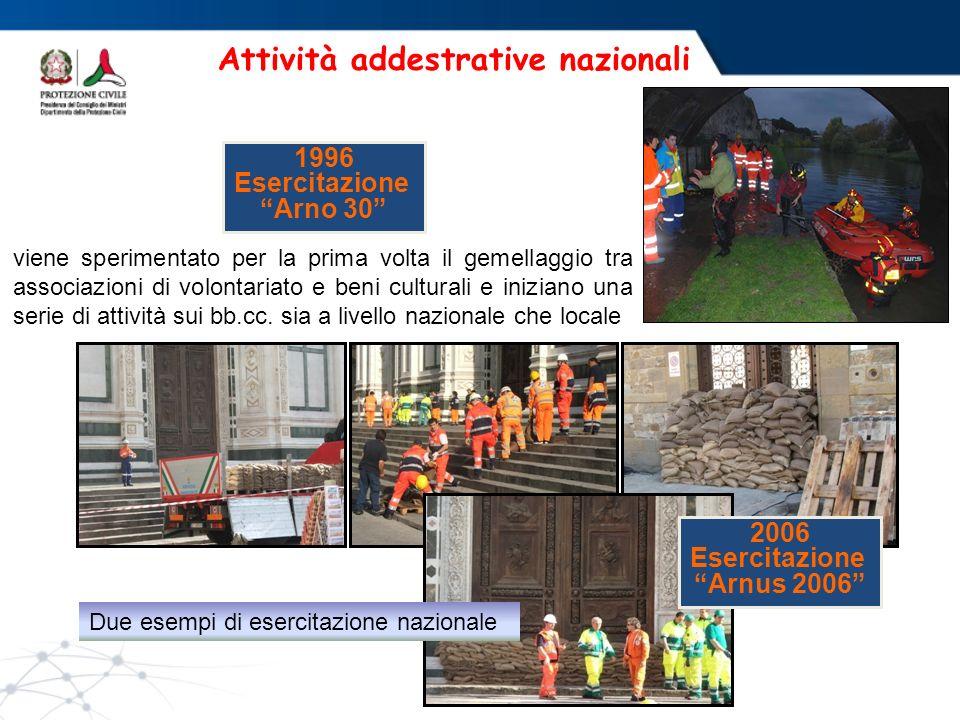 Attività addestrative nazionali