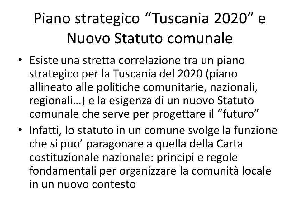 Piano strategico Tuscania 2020 e Nuovo Statuto comunale