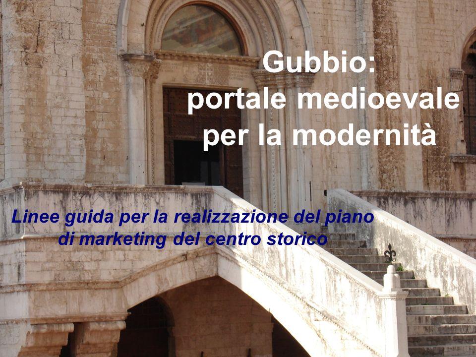 Gubbio: portale medioevale per la modernità