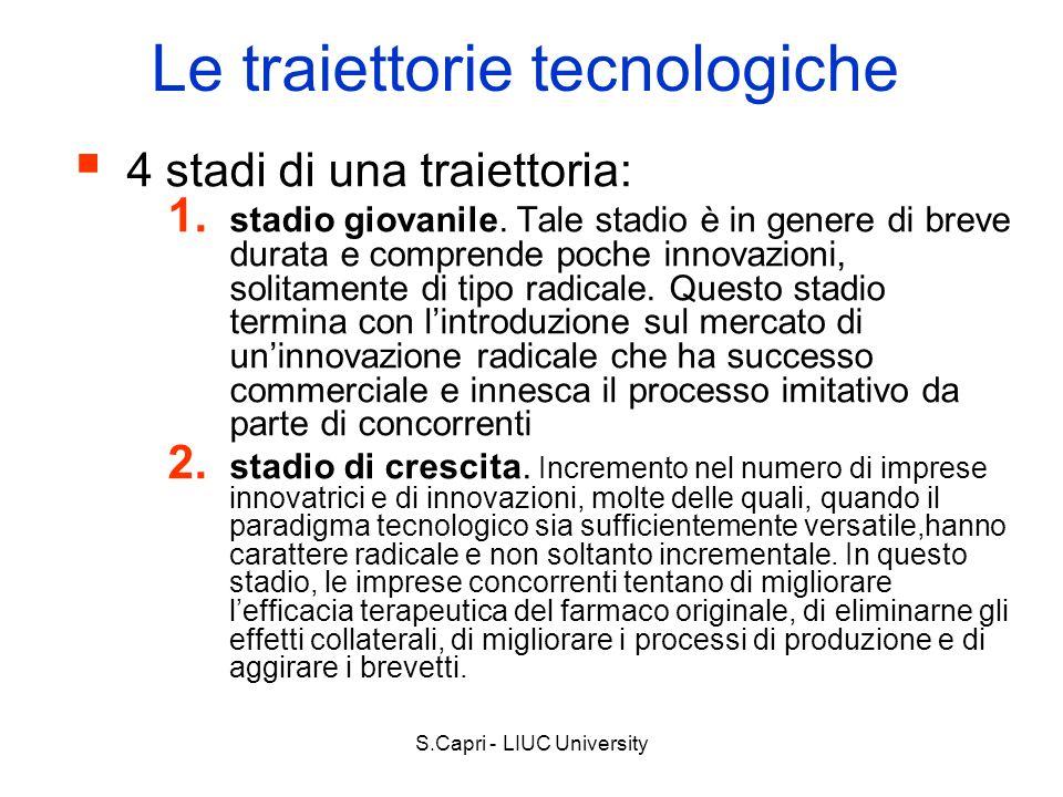Le traiettorie tecnologiche