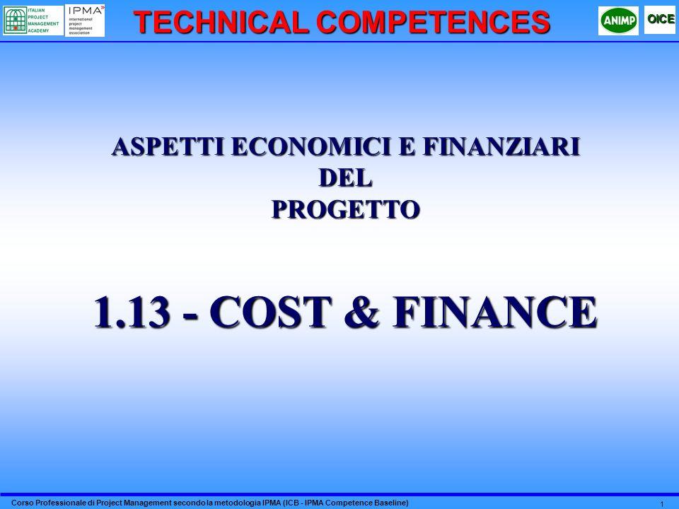 TECHNICAL COMPETENCES ASPETTI ECONOMICI E FINANZIARI