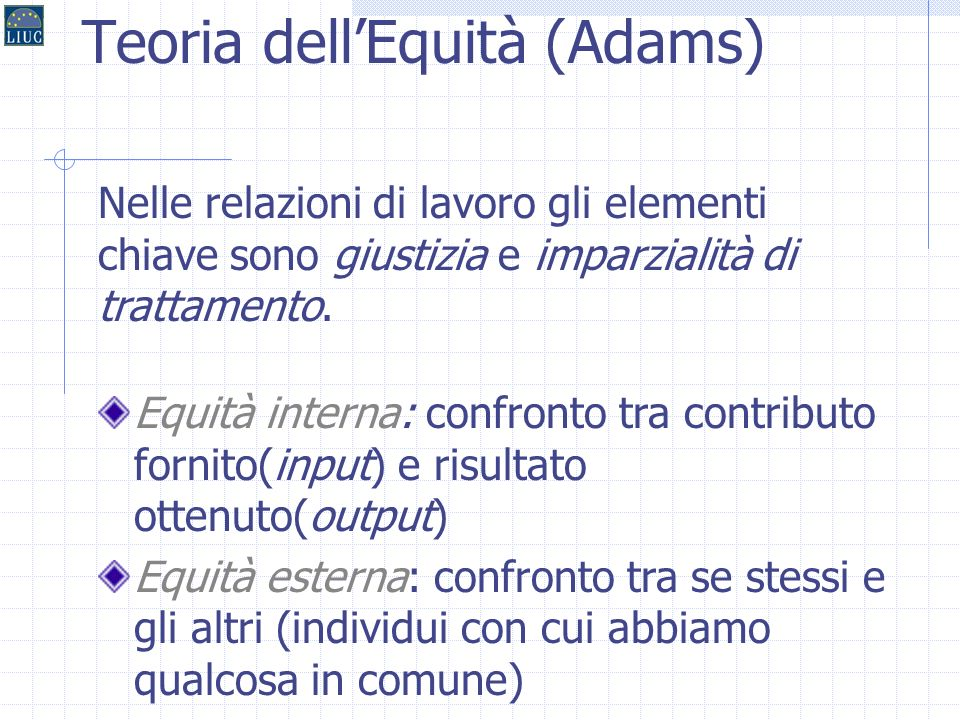 Teoria dell'Equità (Adams)