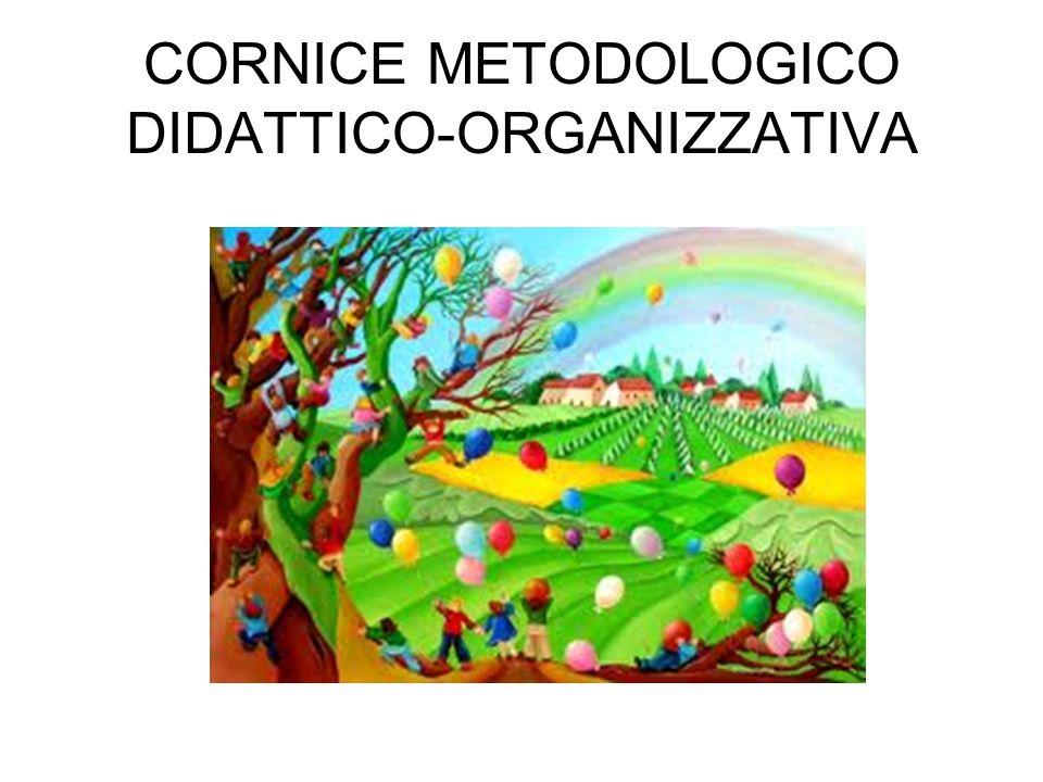CORNICE METODOLOGICO DIDATTICO-ORGANIZZATIVA