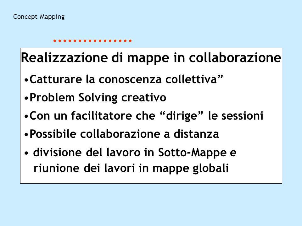 Realizzazione di mappe in collaborazione