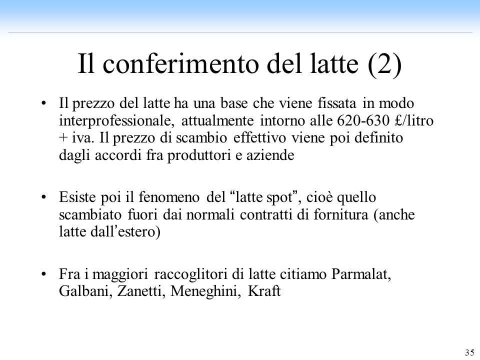 Il conferimento del latte (2)
