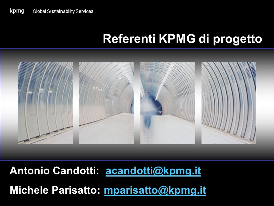 Referenti KPMG di progetto